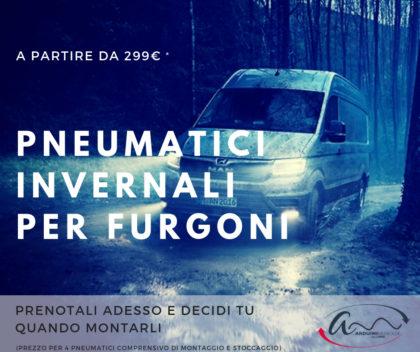 pneumatici invernali per furgoni