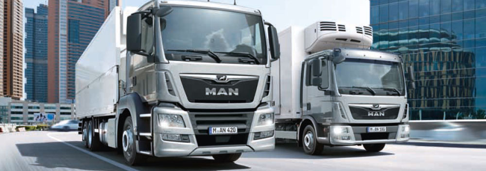 Eurodiesel Veicoli Man per la distribuzione