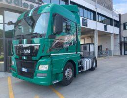 man tgx 18.480 trattore usato