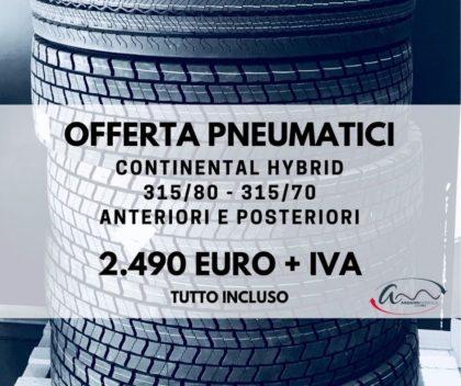 pneumatici continental hybrid in promozione